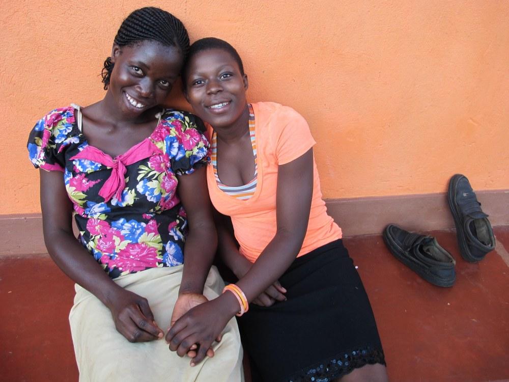 Sauya and Zahara--love love love.