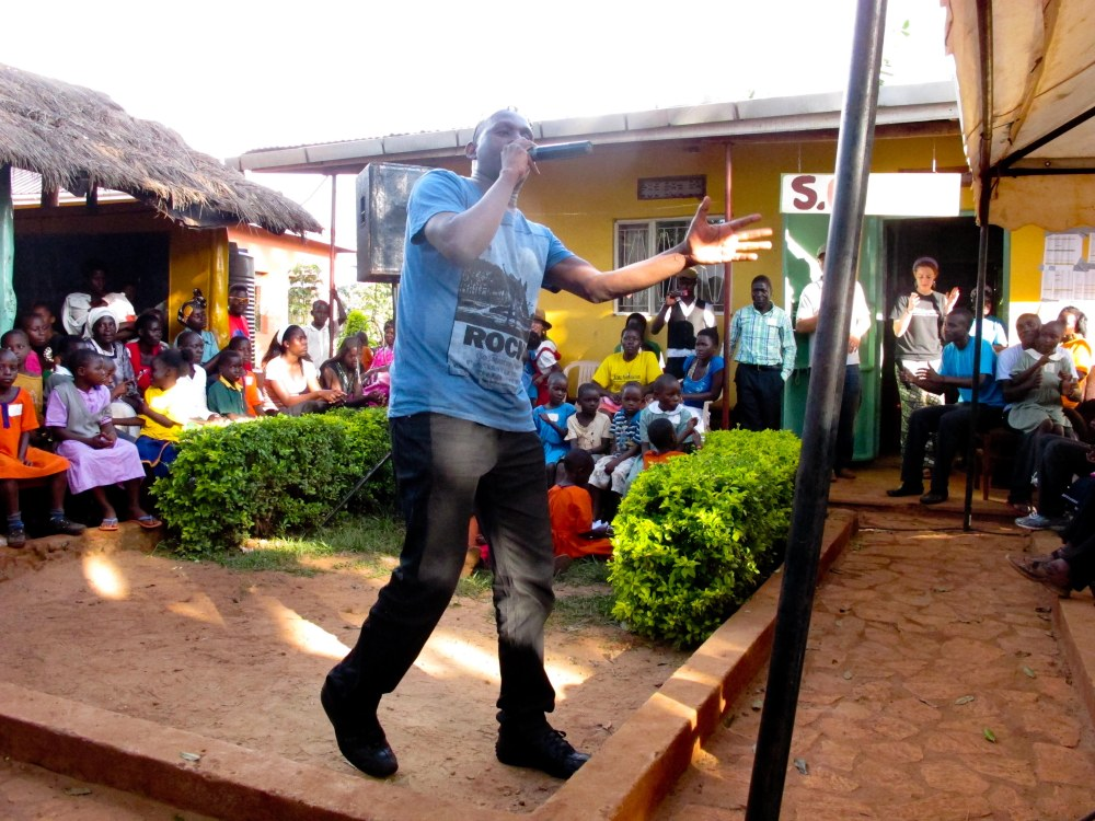 rapper at our Student's Day